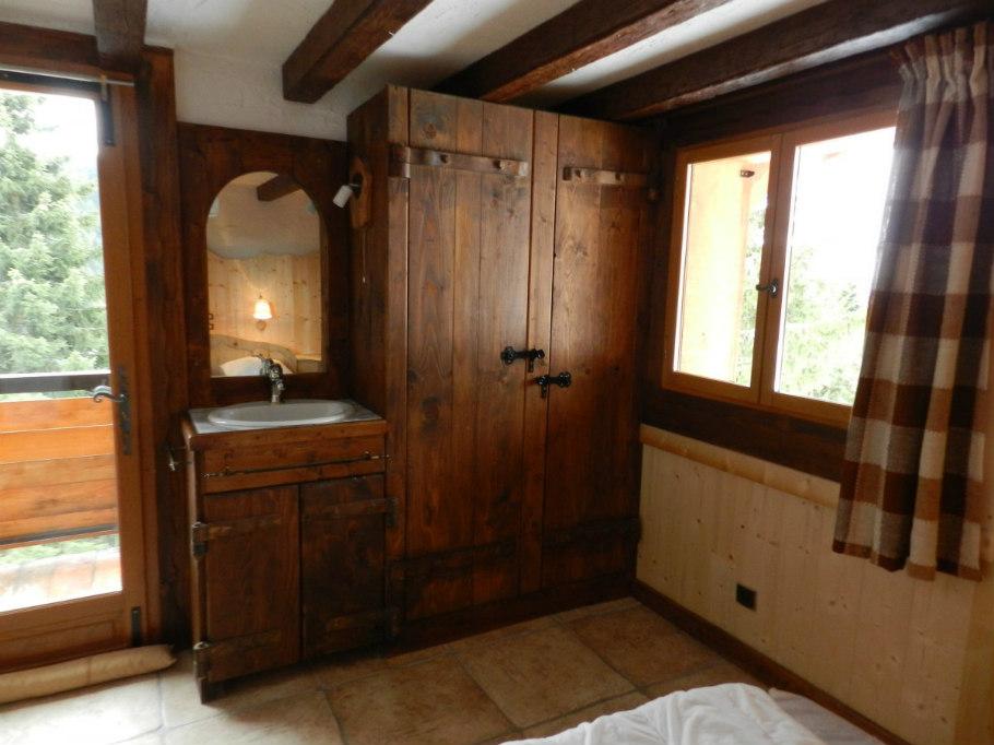 salle de bain le chalet le Raydan