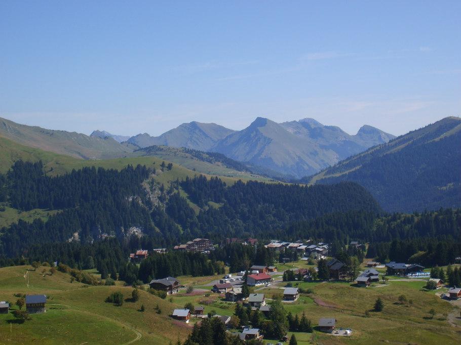 Station familiale Haute-Savoie chalet le raydan